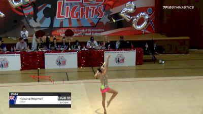 Havana Hopman - Clubs, CMGY - 2020 LA Lights Tournament of Champions