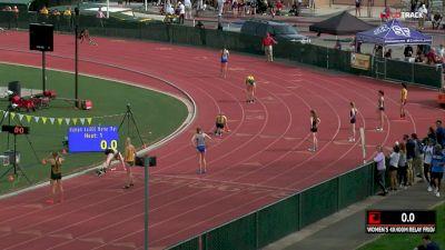 Women's 4x400m Relay, Heat 1