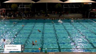 Laguna Beach vs. Orange Lutheran - Girls Southern CA Water Polo Champ