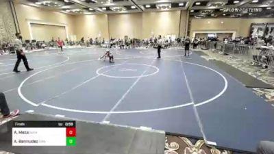 82 lbs Final - Aaron Meza, Sunkist Kids/Monster Garage vs Alexander Bermudez, Grindhouse WC
