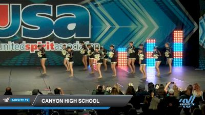 Canyon High School [2020 Large Varsity Song/Pom Advanced (12-23) Day 2] 2020 USA Spirit Nationals
