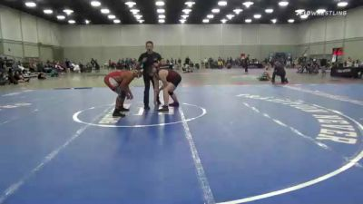 200 lbs 3rd Place - Cael Nordyke, Holly Wildcats vs Trae Kibble, Highlander Youth Wrestling