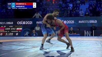60 kg 1/4 Final - Gevorg Gharibyan, Armenia vs Mehrdad Mardani, Iran