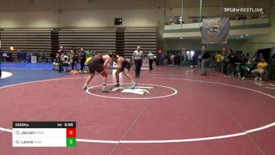 Prelims - David Jensen, Nebraska vs Christian Lance, Nebraska