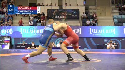 110 kg Final 1-2 - Nikita Ovsjanikov, Germany vs Daniil Chasovnikov, Russia