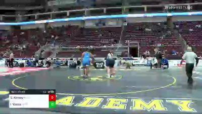 285 lbs Semifinal - Sean Kinney, Nazareth vs Isaiah Vance, Hempfield Area