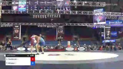 138 lbs Semifinal - Casey Swiderski, Michigan vs Ty Whalen, New Jersey