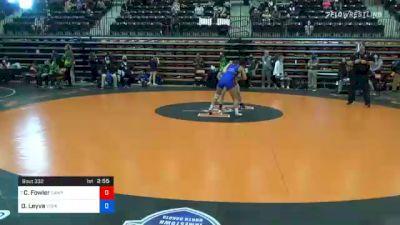 116 lbs Prelims - Charlotte Fowler, Campbellsville vs Diana Leyva, York