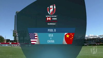 USA vs China Pool B | 2018 HSBC Women's 7s Colorado