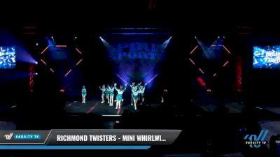 Richmond Twisters - Mini Whirlwinds [2021 L1 Mini - D2 Day 1] 2021 Spirit Sports: Battle at the Beach