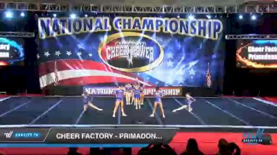 Cheer Factory - Primadonnas [2021 L1 Junior - D2 - Small Day 3] 2021 ACP Southern National Championship