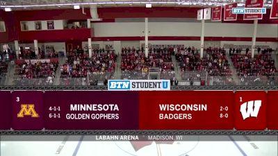 2018 Minnesota vs Wisconsin | Big Ten Women's Hockey