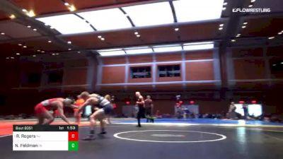 170 lbs Final - Rylan Rogers, NJ vs Nick Feldman, PA