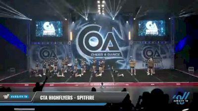 CTA Highflyers - Spitfire [2021 L2 Junior - D2 - Medium Day 1] 2021 COA: Midwest National Championship