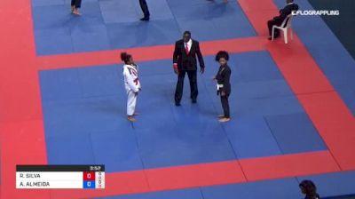RAYANE SILVA vs ANA ALMEIDA 2018 Abu Dhabi Grand Slam Rio De Janeiro