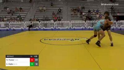 160 lbs Prelims - Nick Foster, Dark Knights Wrestling Club vs Kaz Rajko, Ohio Titan Blue