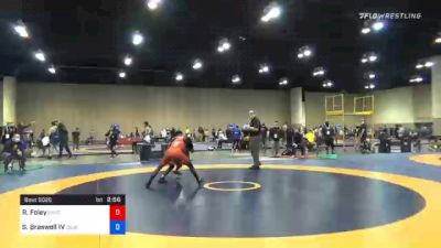 57 kg Prelims - Rayvon Foley, Unattached vs Samuel Braswell IV, Cougar Wrestling Club