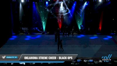 Oklahoma Xtreme Cheer - Black Ops [2021 L3 Senior - D2 - Small Day 1] 2021 The U.S. Finals: Pensacola