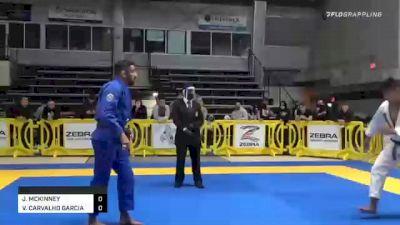 JOSHUA MCKINNEY vs VINICUIS CARVALHO GARCIA 2020 American National IBJJF Jiu-Jitsu Championship