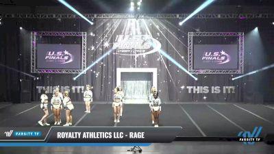Royalty Athletics LLC - Rage [2021 L2 Senior - D2 Day 1] 2021 The U.S. Finals: Sevierville