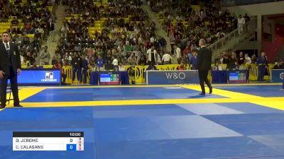 DEALONZIO JEROME JACKSON vs CLAUDIO CALASANS CAMARGO JÚNIOR 2019 World Jiu-Jitsu IBJJF Championship