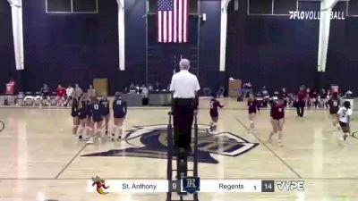 Replay: St. Anthony's vs Regents (Austin) | Oct 14 @ 7 PM