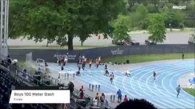 Professional Men's 100m Elite, Prelims 1