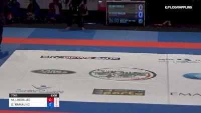 MAX LINDBLAD vs DIEGO RAMALHO Abu Dhabi World Professional Jiu-Jitsu Championship