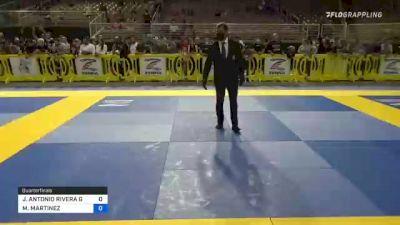 JUAN ANTONIO RIVERA GARCIA vs MATEO MARTINEZ 2021 Pan Kids Jiu-Jitsu IBJJF Championship