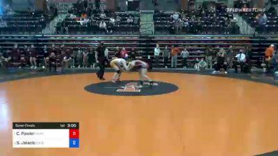 116 lbs Semifinal - Charlotte Fowler, Campbellsville vs Stefana Jelacic, Lourdes