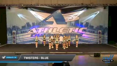 Twisters - Blue [2021 L2 Junior - Small Day 2] 2021 Athletic Championships: Chattanooga DI & DII