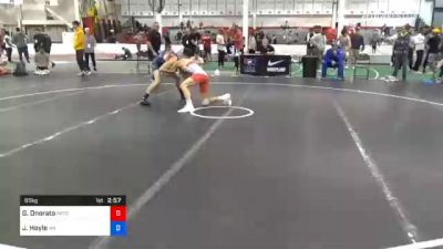 65 kg Consolation - Gabriel Onorato, Pennsylvania RTC vs Justin Hoyle, Washington