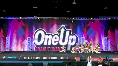 OC All Stars - Youth Blue - Foothill Ranch [2021 L3 Youth - Small Day 1] 2021 One Up National Championship