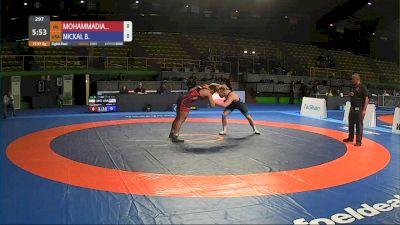 97 kg Mohammad Askari Mohammadian, IRI vs Bo Nickal, USA