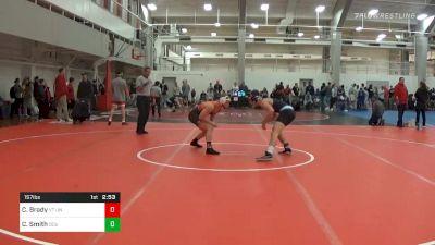 Prelims - Connor Brady, VT Unattached vs Cole Smith, Old Dominion