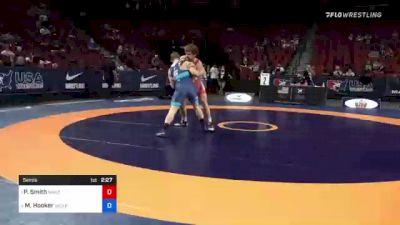72 kg Semis - Patrick Smith, Minnesota Storm vs Michael Hooker, Army (WCAP)