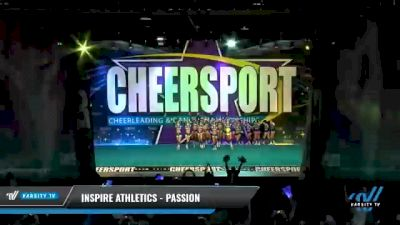 Inspire Athletics - Passion [2021 L5 Senior - Large Day 2] 2021 CHEERSPORT National Cheerleading Championship