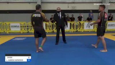 DIEGO FERREIRA DA SILVA vs LUKE AARON HARWOOD 2021 Pan IBJJF Jiu-Jitsu No-Gi Championship