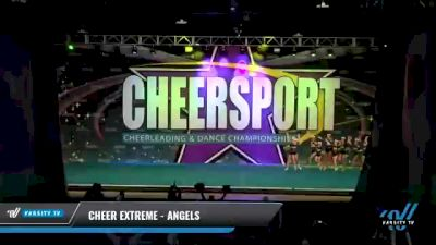 Cheer Extreme - Angels [2021 L3 Junior - Small - A Day 2] 2021 CHEERSPORT National Cheerleading Championship