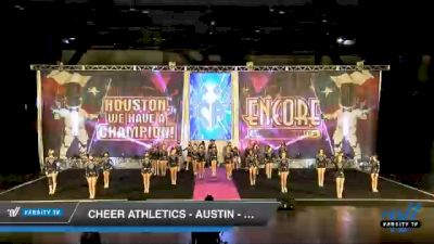 Cheer Athletics - Austin - ObsidianCats [2020 L4 Senior Coed Day 2] 2020 Encore Championships: Houston DI & DII
