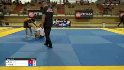 Jack Sear Lands Tight Guillotine in ADCC Trials 77kg Division