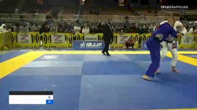 RAFAEL LOVATO JR. vs NICHOLAS GILES WOLZ 2020 World Master IBJJF Jiu-Jitsu Championship