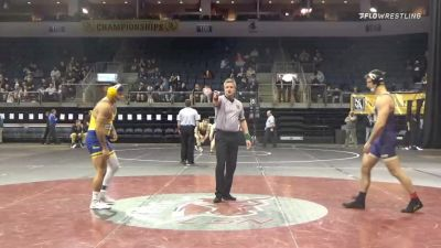 197 lbs 7th Place - Ryan Thomas, James Madison University vs Dominic Vasquez, University Of Toledo