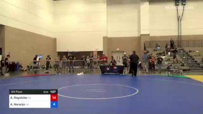 54 kg 5th Place - Brooke Tarshis, NY vs Kira Cole, OH