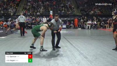 149 lbs Consolation - Denton Spencer, Virginia vs Alec Hagan, Ohio