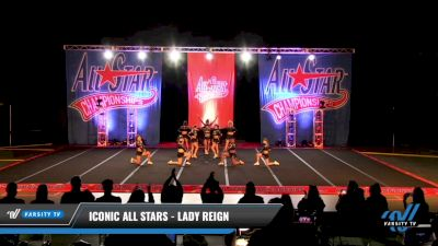 Iconic All Stars - Lady Reign [2021 L6 Senior - XSmall Day 3] 2021 ASCS: Tournament of Champions & All Star Prep Nationals