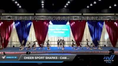 Cheer Sport Sharks - Cambridge - Smalltooth Sharks [2020 L1 Mini Day 2] 2020 The American Majestic DI & DII