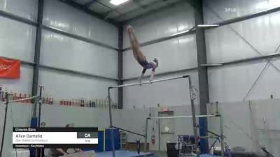 Allyn Damelio - Bars, San Mateo Gymnastics - 2021 American Classic and Hopes Classic