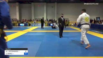 ANTONI I. GOTSMANOV vs ZIMITRO PEREZ 2021 American National IBJJF Jiu-Jitsu Championship