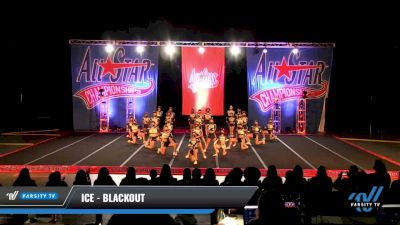 ICE - Blackout [2021 L6 International Open Coed - NT Day 3] 2021 ASCS: Tournament of Champions & All Star Prep Nationals